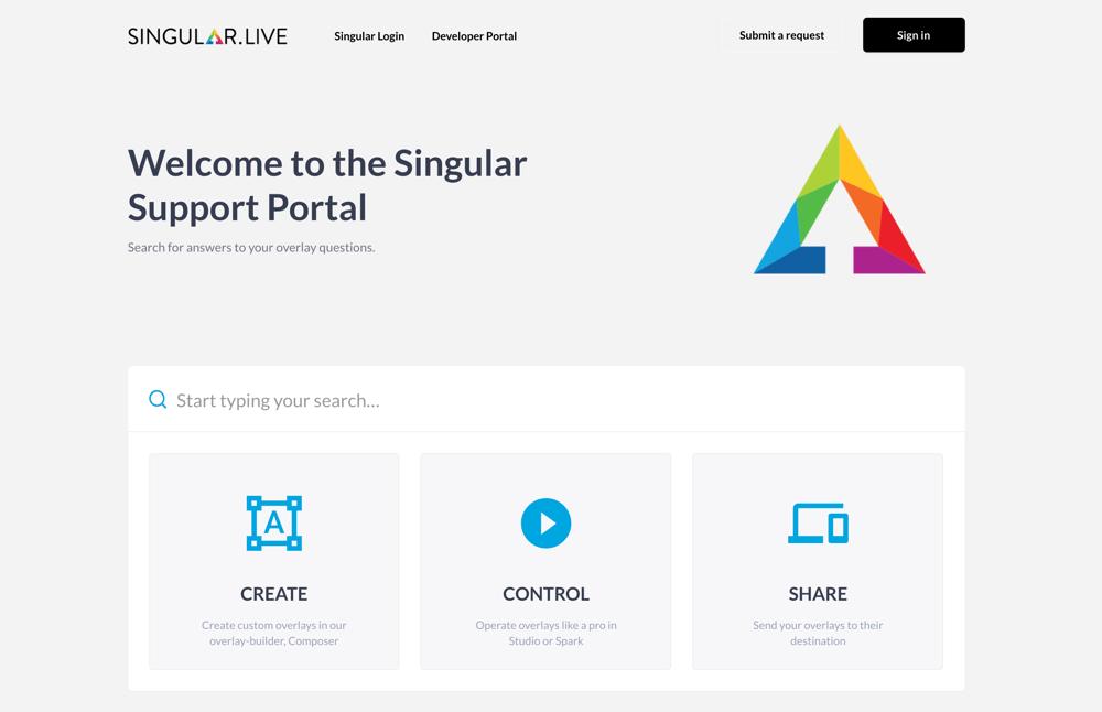 Singular Support Portal