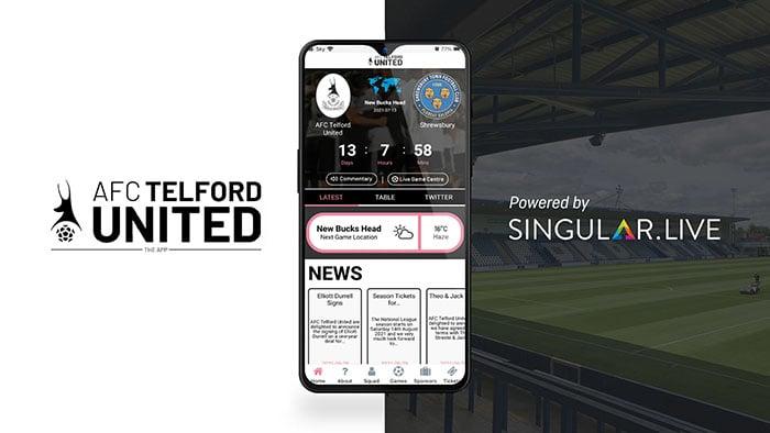 Telford United Fan App
